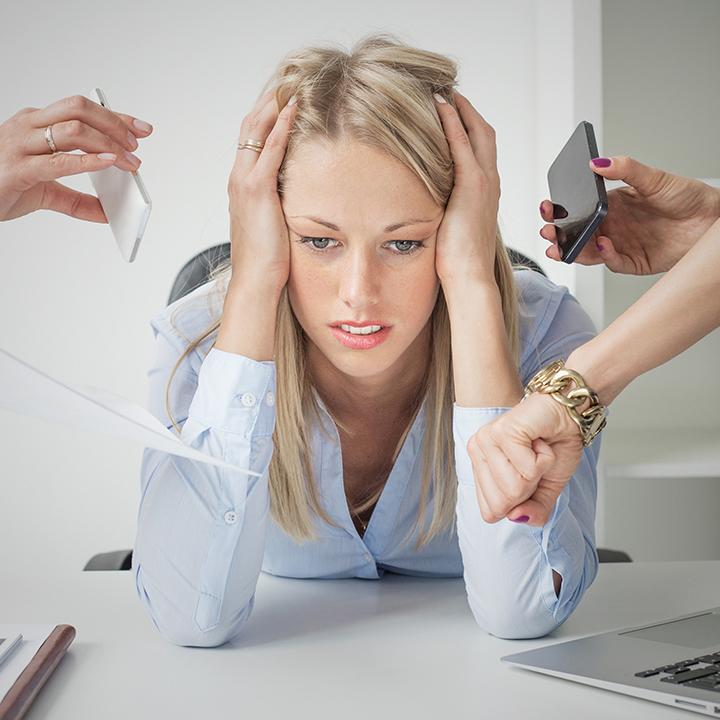 過剰なストレスは大敵